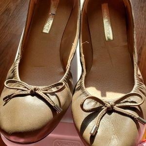 Audrey Brooke Brown Ballet Flats